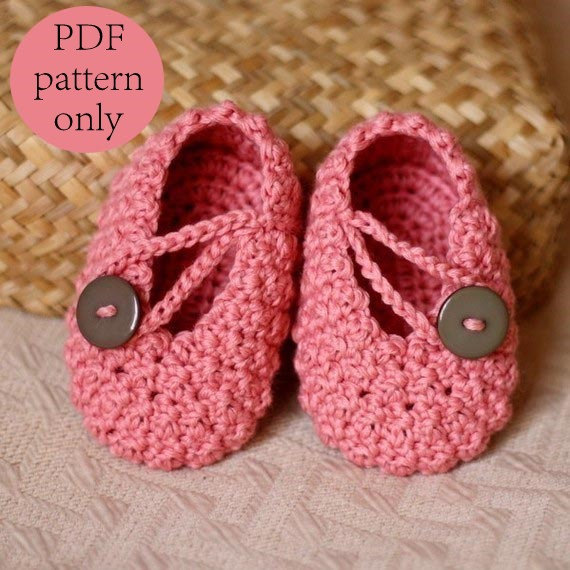 crochet booties crochet pattern - pretty in pink baby booties legqktd