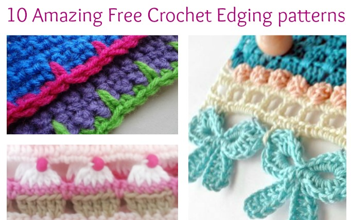 Crochet borders 10 amazing free crochet edging patterns you will love! - simply collectible idrwsha