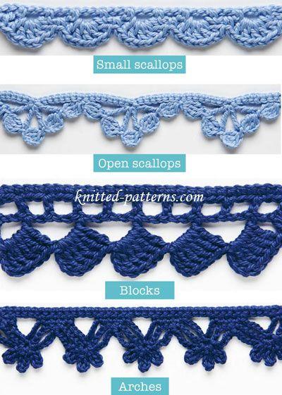 Crochet borders 20 + crochet free edging patterns you should know   crochet edgings, bfgieli