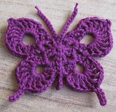 Crochet butterfly - Newest Crochet Butterfly designs ...