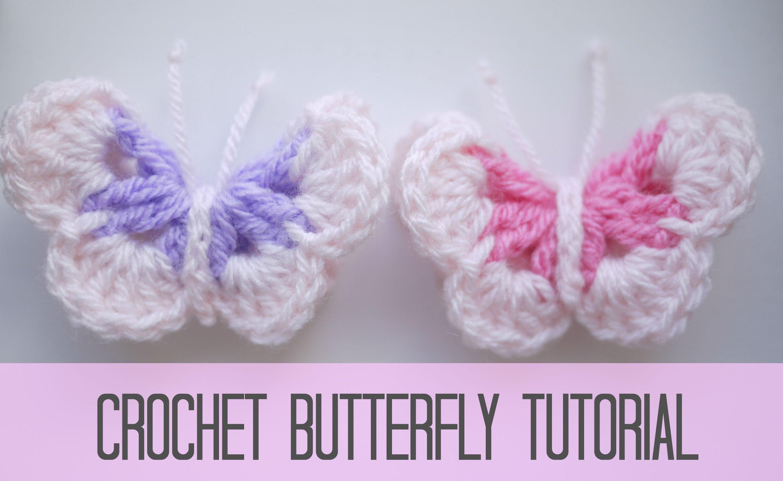 crochet butterfly crochet: butterfly | bella coco - youtube guxigkr