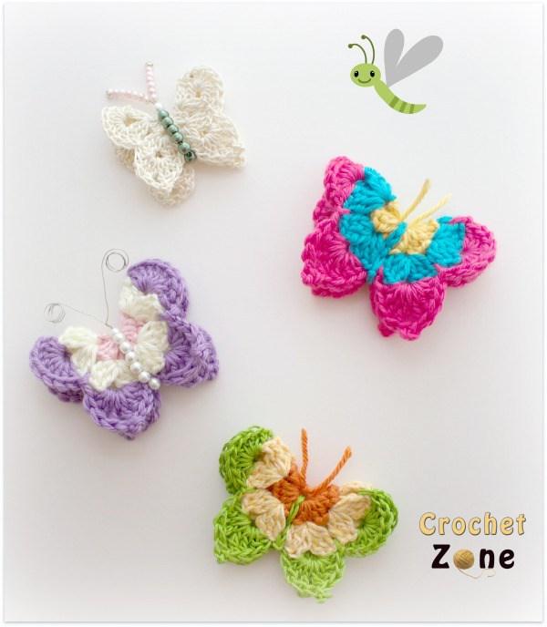 crochet butterfly pattern butterfly crochet pattern by crochet wdakenw