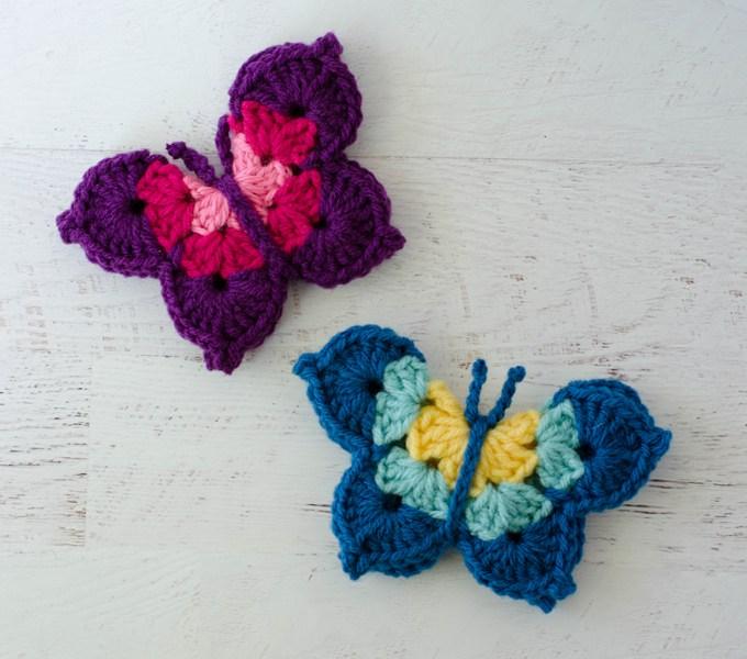crochet butterfly pattern phajorc