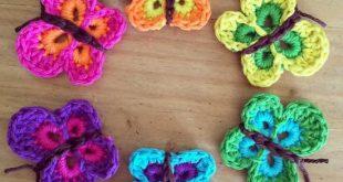 crochet butterfly pattern -u003e get free pattern report lidsaul