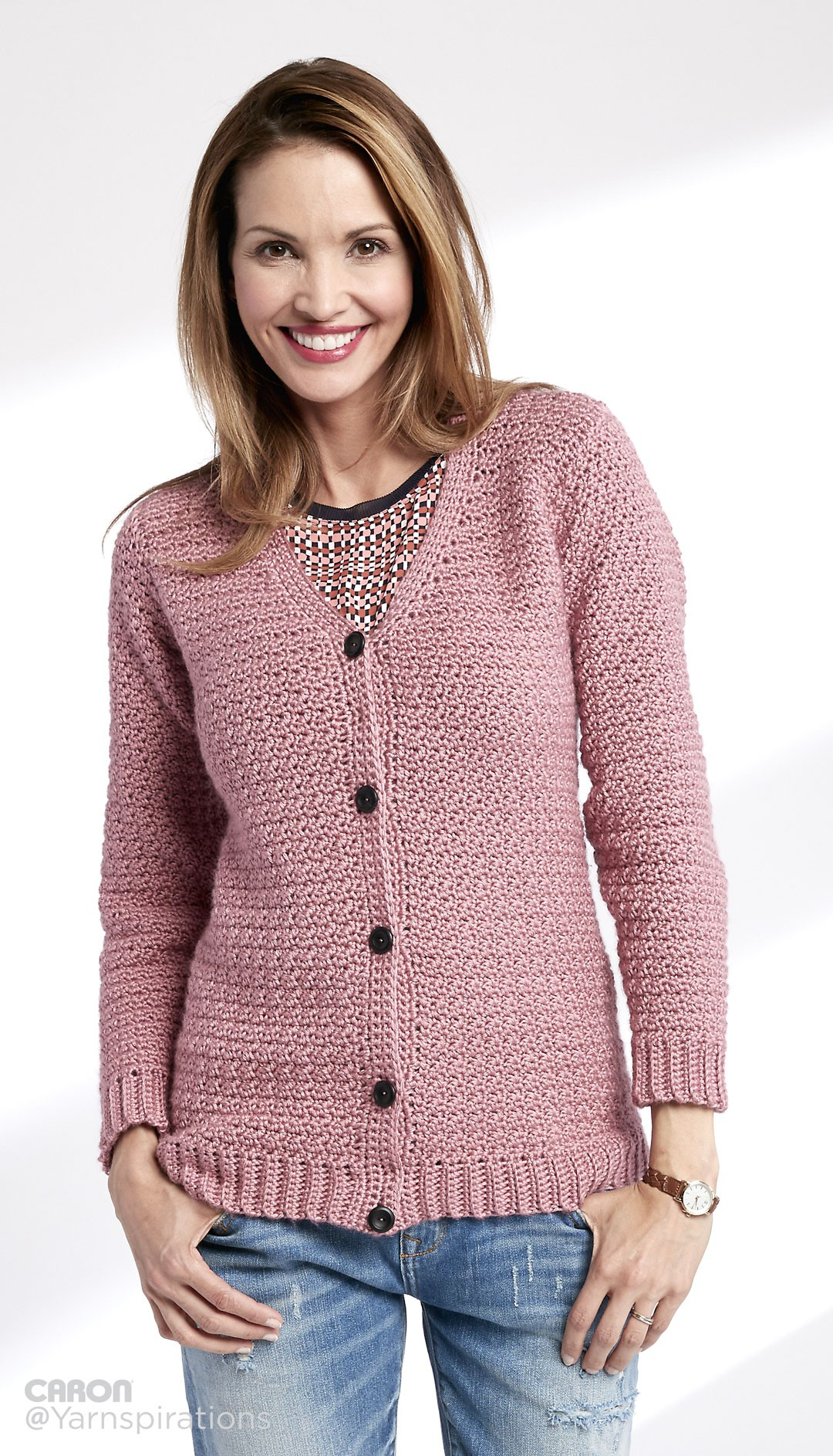 Ladies Crochet Cardigan Pattern Outfits