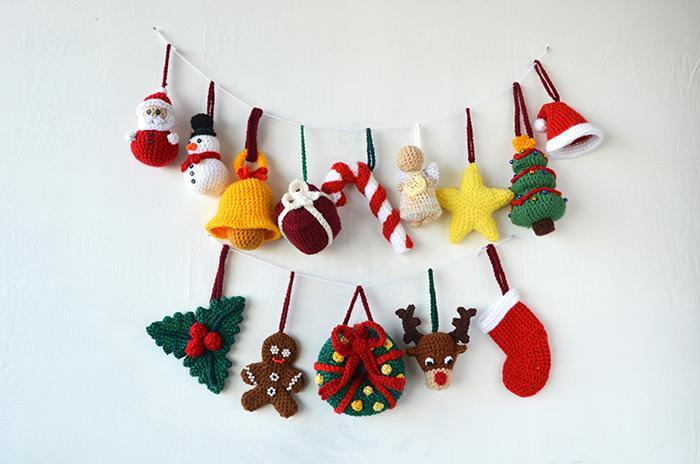 crochet christmas ornaments 14 christmas ornaments crochet pattern ptvugxg