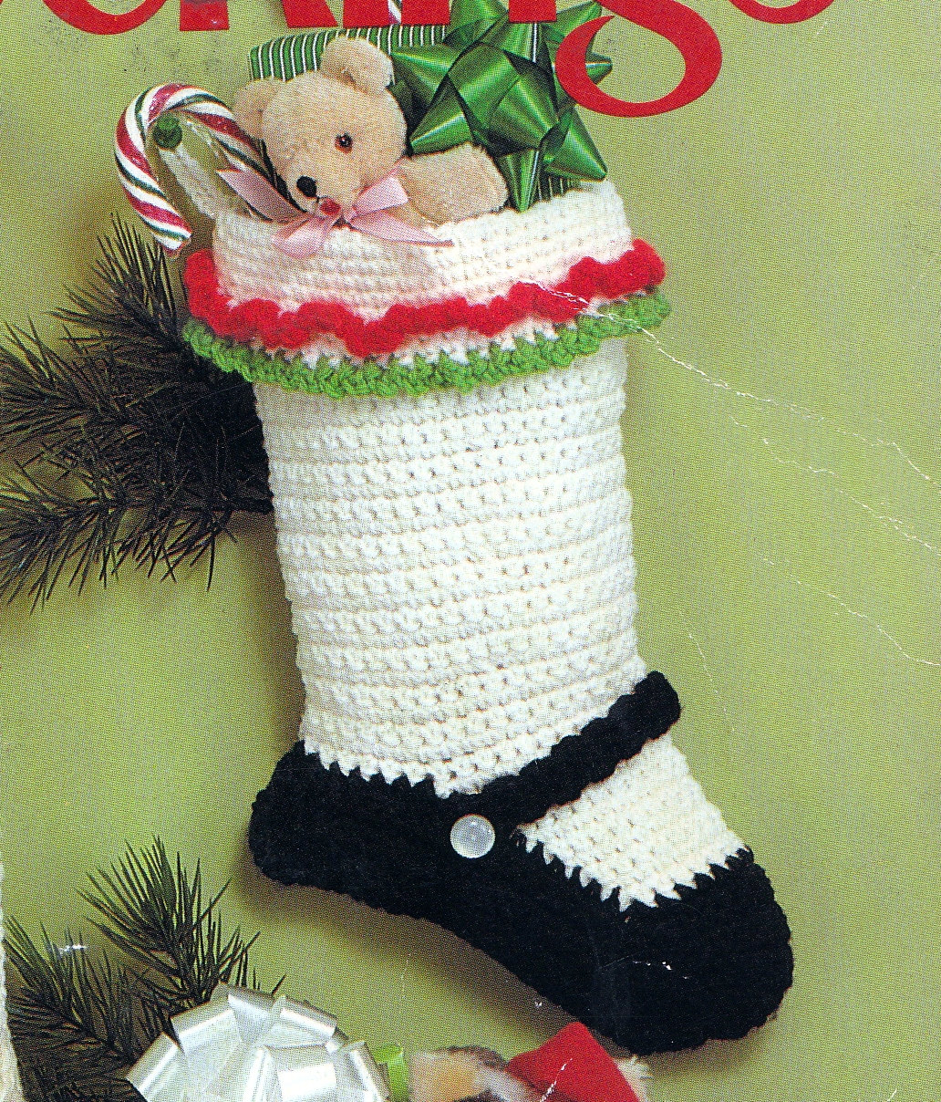 Crochet Christmas stockings – Decorate with Crochet Christmas ...