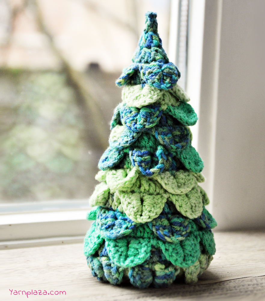 Ways to Crochet Christmas Trees