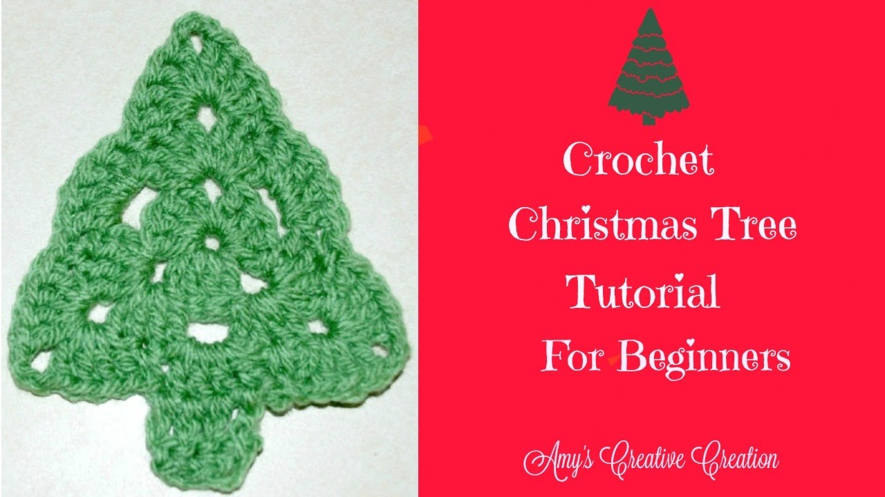 crochet christmas trees crochet christmas tree tutorial - crochet jewel knsxaqg