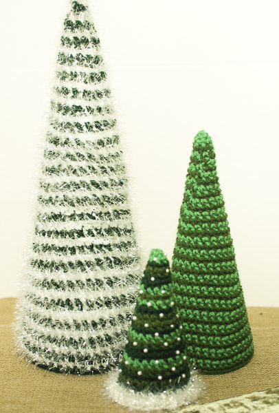 crochet christmas trees if you need to spruce