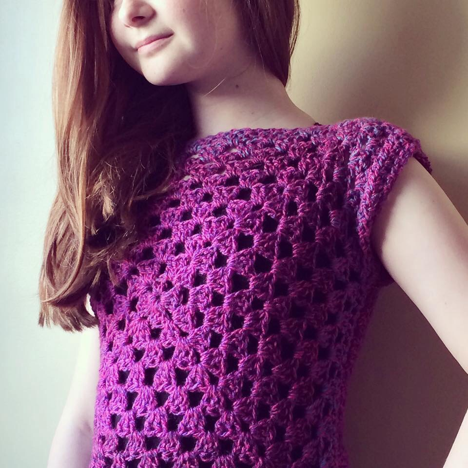 crochet clothing patternpiper crochet granny square top xkozmle
