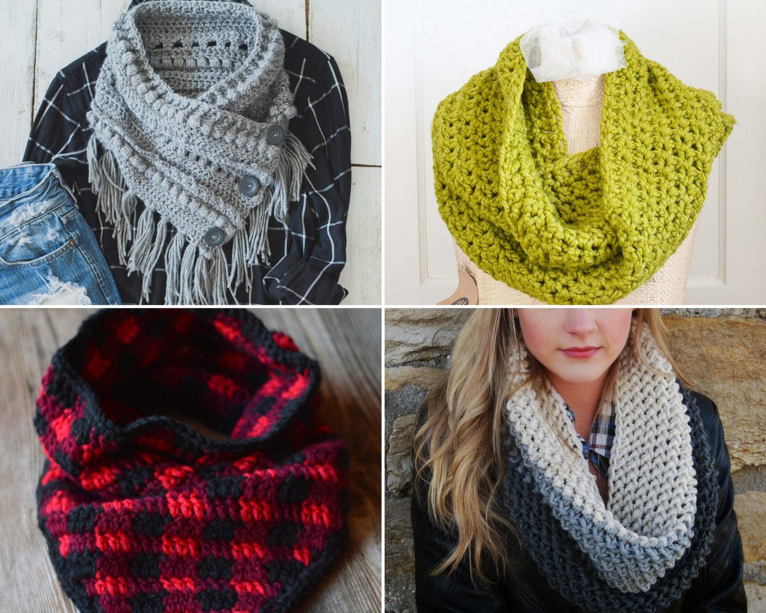 crochet cowl pattern 15 free cowl crochet patterns. these make wonderful gifts and fashion  statements. qluuxrj