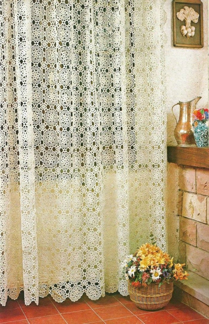 Crochet Curtains crochet curtains are the new trend nxogmuz