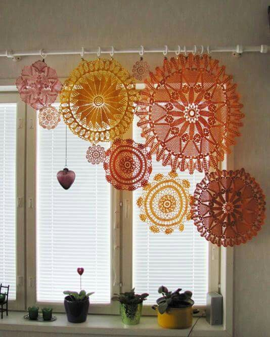 Crochet Curtains crochet curtains, diy カーテン, knit crochet, yahoo, rugs, home, crocheting,  blinds, tejido uxzjmgv