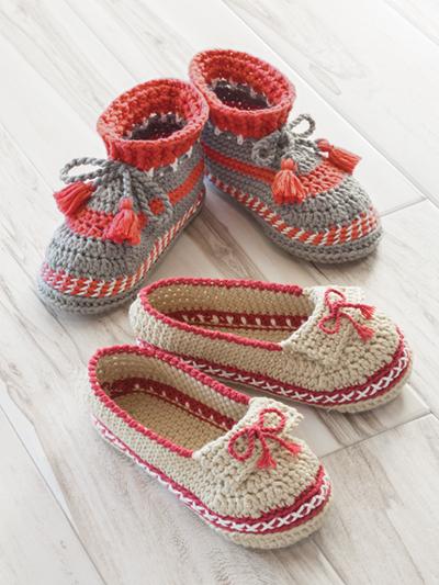 crochet designs annieu0027s signature designs: adult moccasin crochet pattern jcmufza