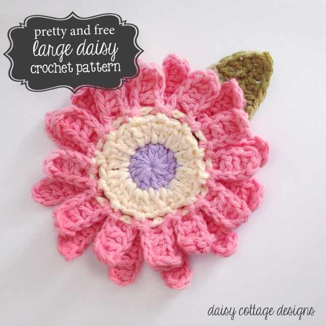 crochet designs large flower crochet pattern tamocdg
