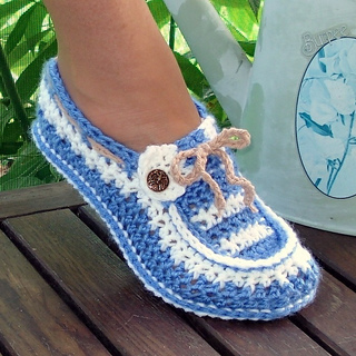 crochet designs ravelry: adult button loafers crochet pattern pattern by genevive hunter xzyqrur