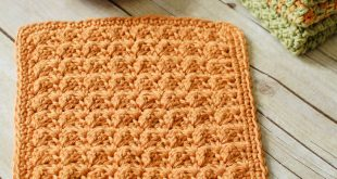crochet dishcloth patterns textured crochet dishcloth from petals to picots ojxhmrj