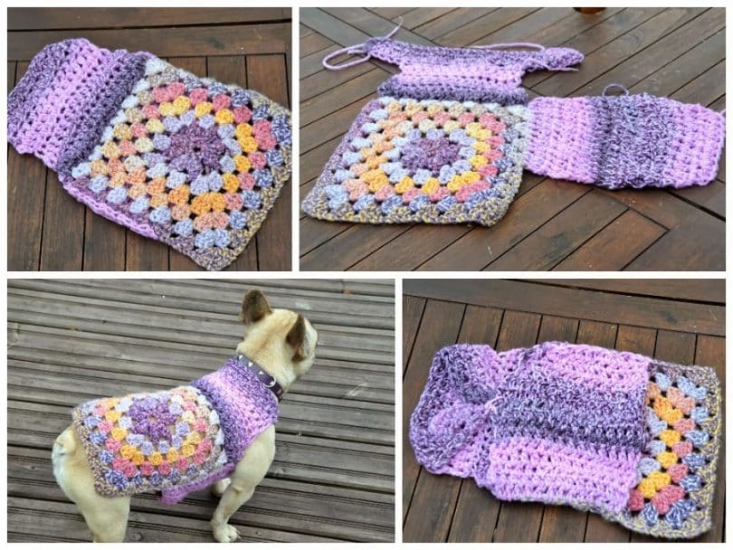 crochet dog sweater making a dog sweater smutevc