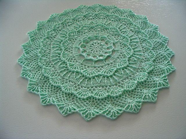 crochet doilies color doily - 8 zilvqqu