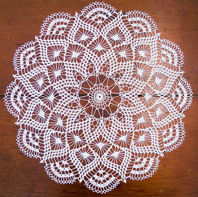 crochet doilies doily with points made with size 30 crochet cotton. no kkclqdx