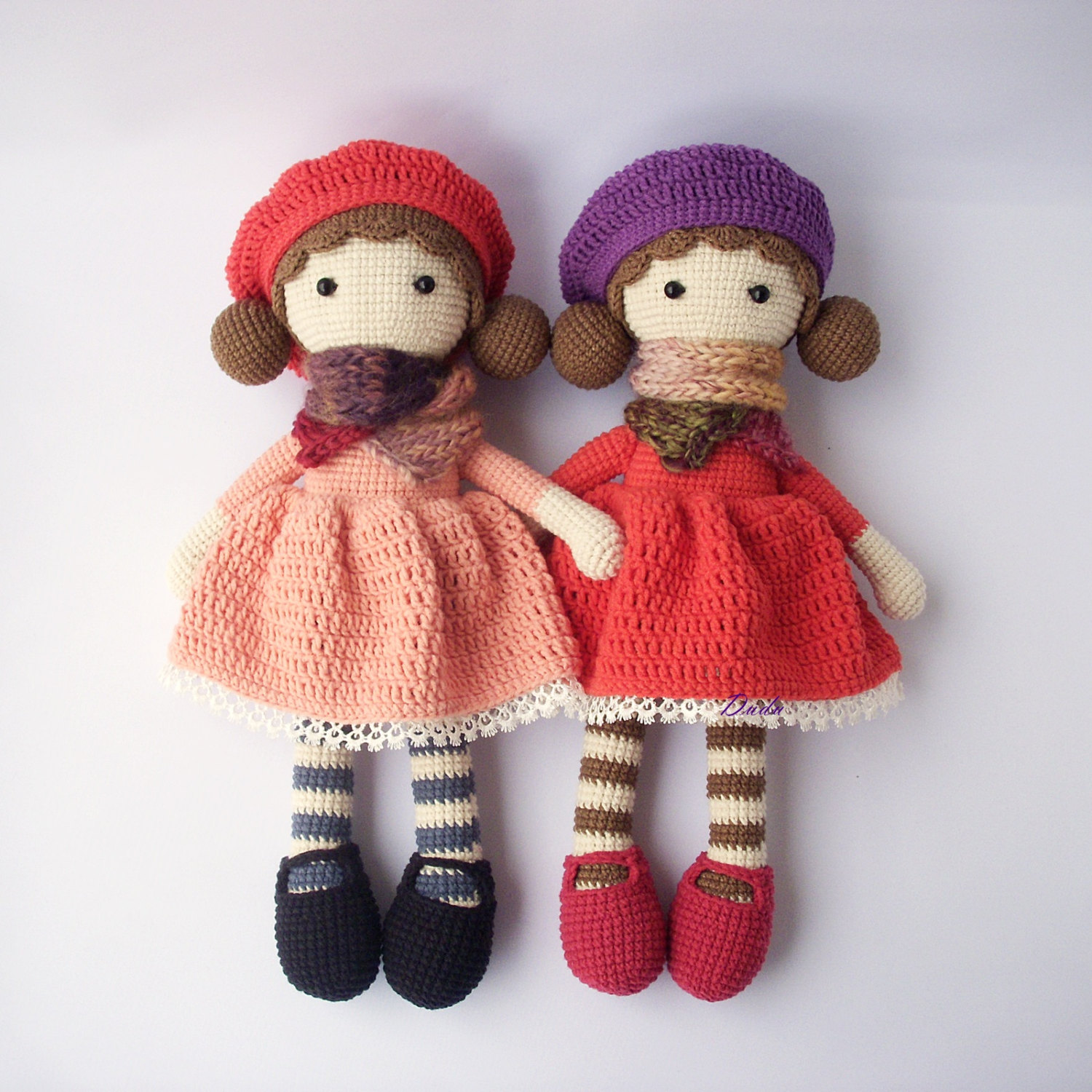 Crochet doll – Colorful Crochet doll for Babies – thefashiontamer.com