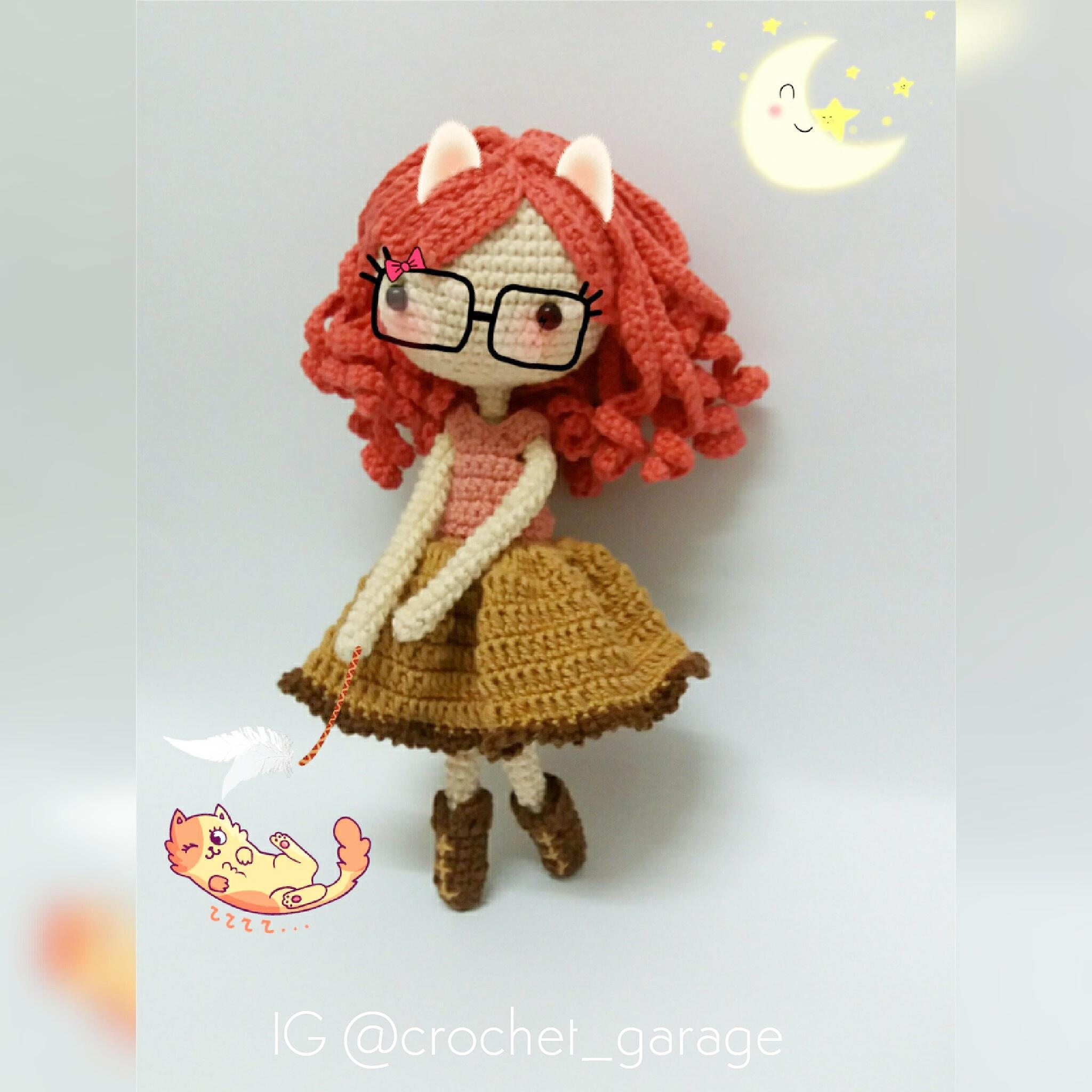 crochet doll 🔎zoom ynetbhr