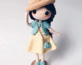 crochet doll | etsy kggbkme