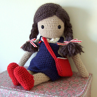 crochet doll patterns ravelry: my crochet doll pattern by isabelle kessedjian mpzactu