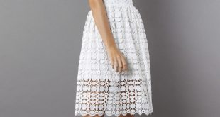 crochet dress more views. splendid crochet white dress sxrfitl