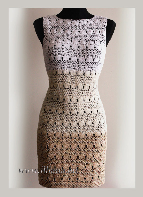 Opt For The Special Crochet Dress Pattern For Women