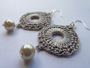 crochet earrings silk crochet circulare washer earrings :: free crochet thread earrings  roundup on ewdfmzh