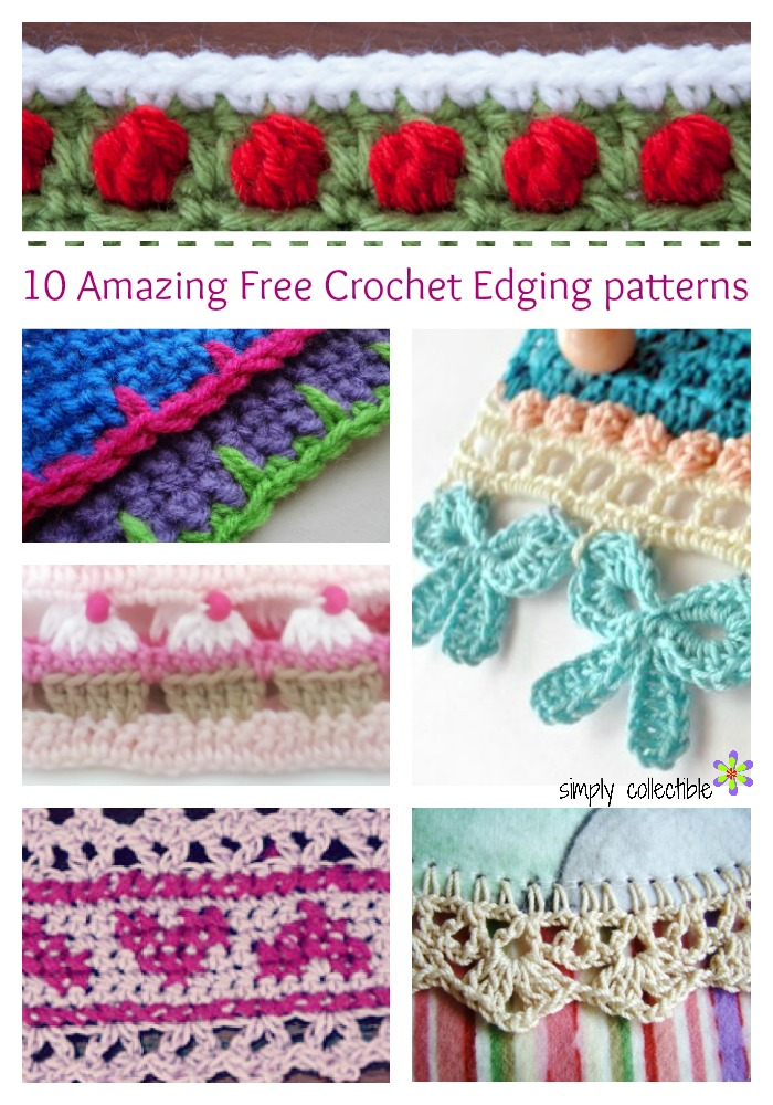 Crochet Edging Patterns 10 amazing free crochet edging patterns you will love! - simply collectible ecatkir