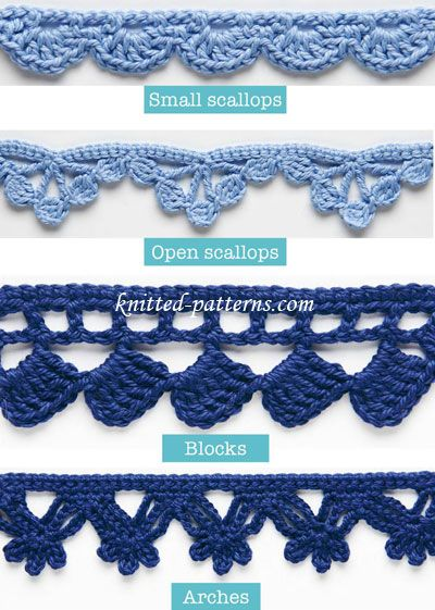 Crochet Edging Patterns 20 + crochet free edging patterns you should know | crochet edgings, hgcfdfs