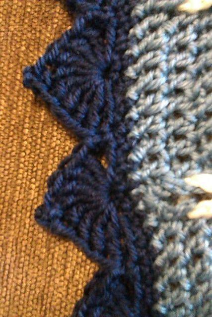Crochet Edging Patterns cathedral edging: free crochet pattern cvjokdx