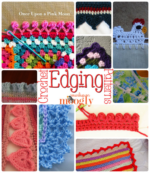 Crochet Edging Patterns free #crochet edging patterns - great for blankets, napkins, towels,  tablecloths, ohcdhtj