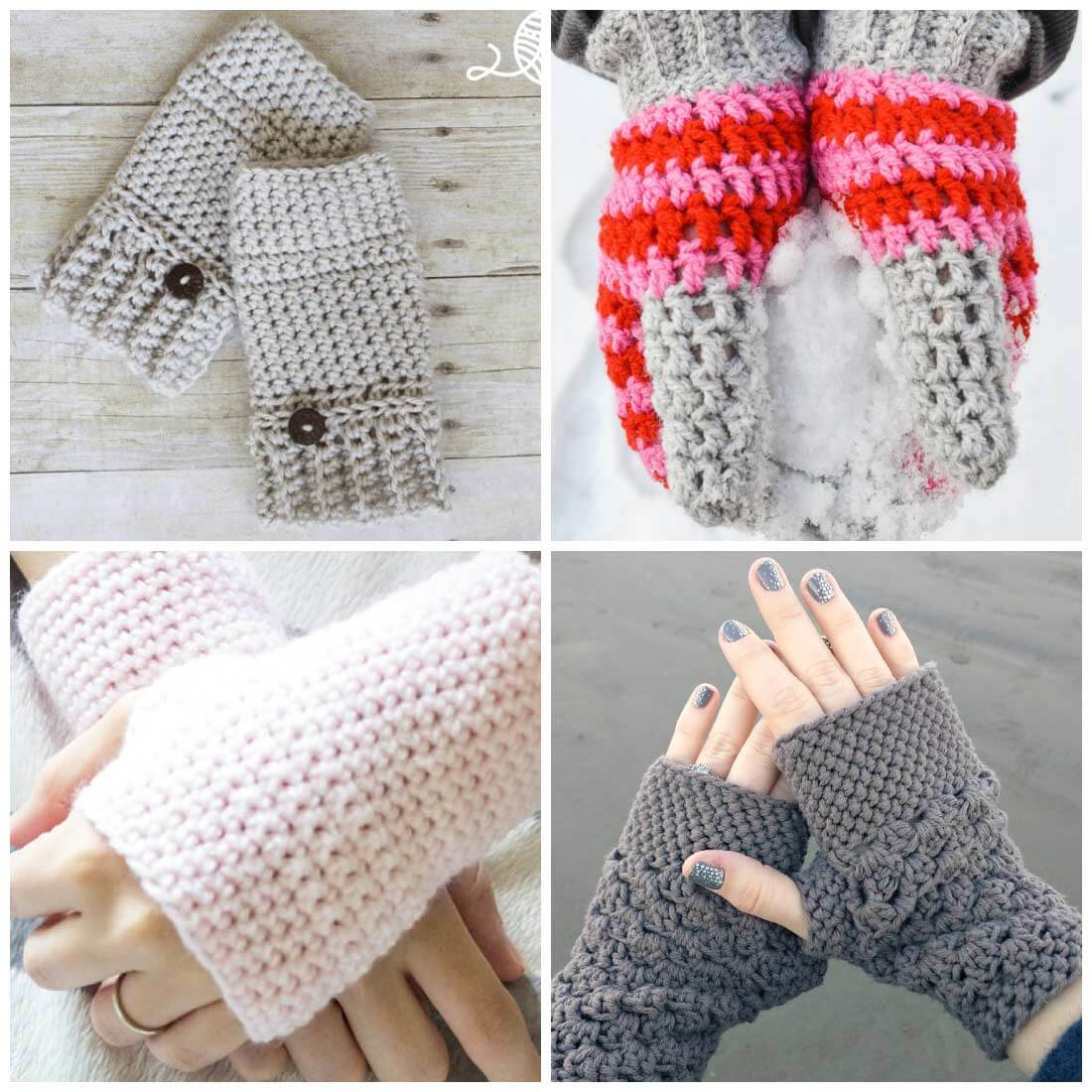crochet fingerless gloves fingerless gloves crochet pattern | crochet mittens | crochet gloves | free krfpiqt