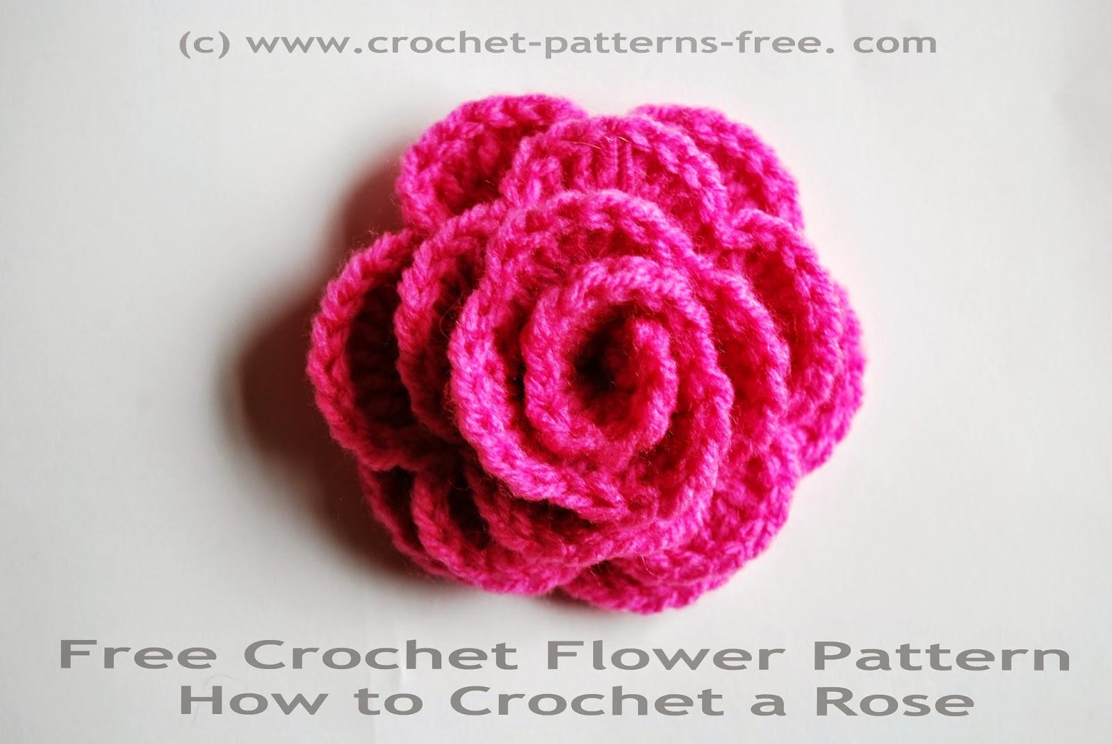 crochet flower pattern free crochet flower patters kxbiovn
