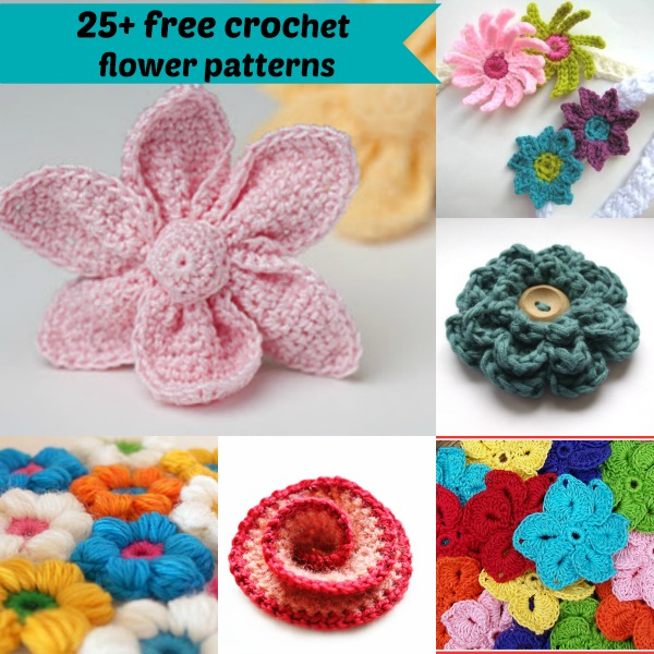 Crochet Flower Patterns 25+ free easy crochet flowers patterns czazbsf