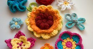 crochet flowers 10 beautiful (and free) crochet flower patterns ucdzgod