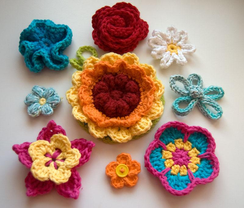 Crochet Flowers – The Flower Power