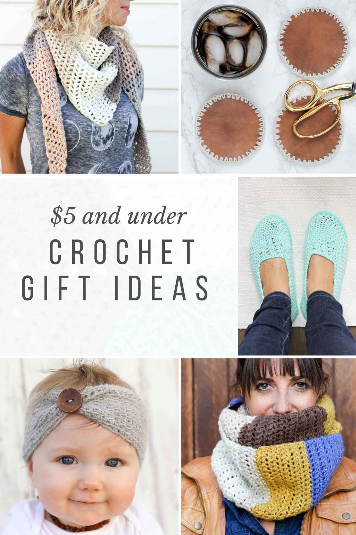 crochet gifts these modern crochet gift ideas can all be make for under $5, which coaivyb