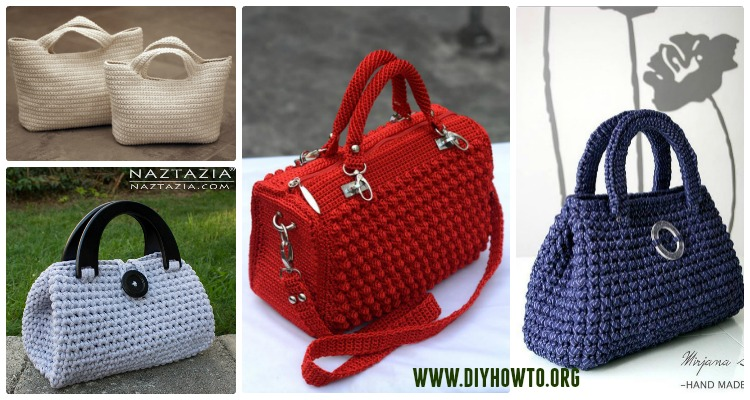 crochet handbags crochet handbag free patterns u0026 instructions locqwnd