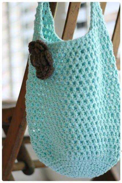 crochet handbags easy to make, this cute crochet bag is one you take to the encsyob