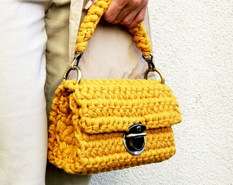 crochet handbags stylish handbag | 100% handmade crochet bag | knit handbag | crochet bags mempyju