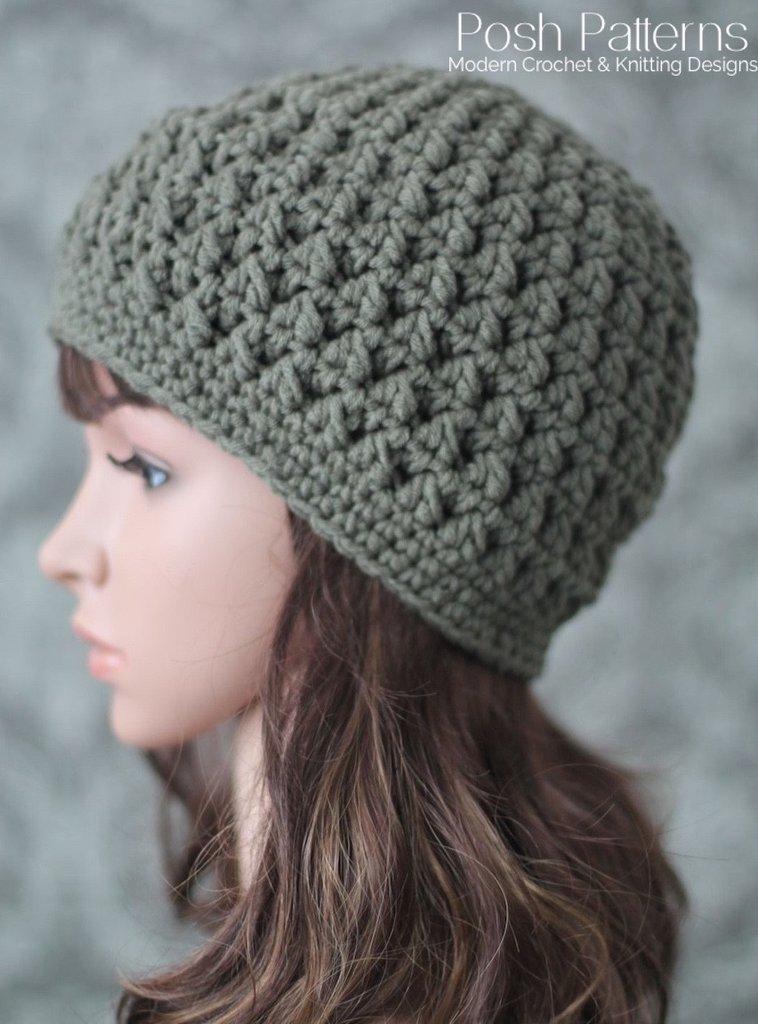 crochet hat patterns easy crochet hat pattern · crochet textured beanie pattern ... gxnpdgk