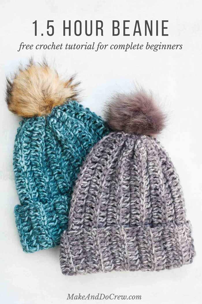 crochet hat patterns for beginners crochet a hat in an hour! this free crochet hat pattern for beginners eyrdhlt