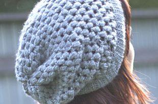 crochet hat patterns for beginners slouchy beanie crochet hat pattern mhesgko