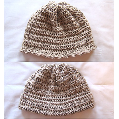 crochet hat patterns for beginners this crochet hat is one pattern with a different ending: his or hers. mifpcbs