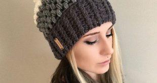 crochet hat patterns pattern fitted puff stitch beanie pdf file by shopabcrochet | หมวก อุ่นๆ | bvnltoj